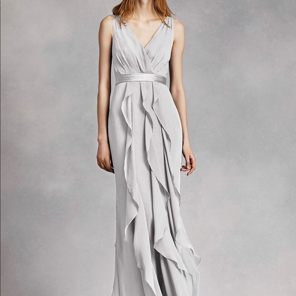 f90b74475d4087 David's Bridal Dresses | Davids Bridal Bridesmaid Vera Wang Dress ...